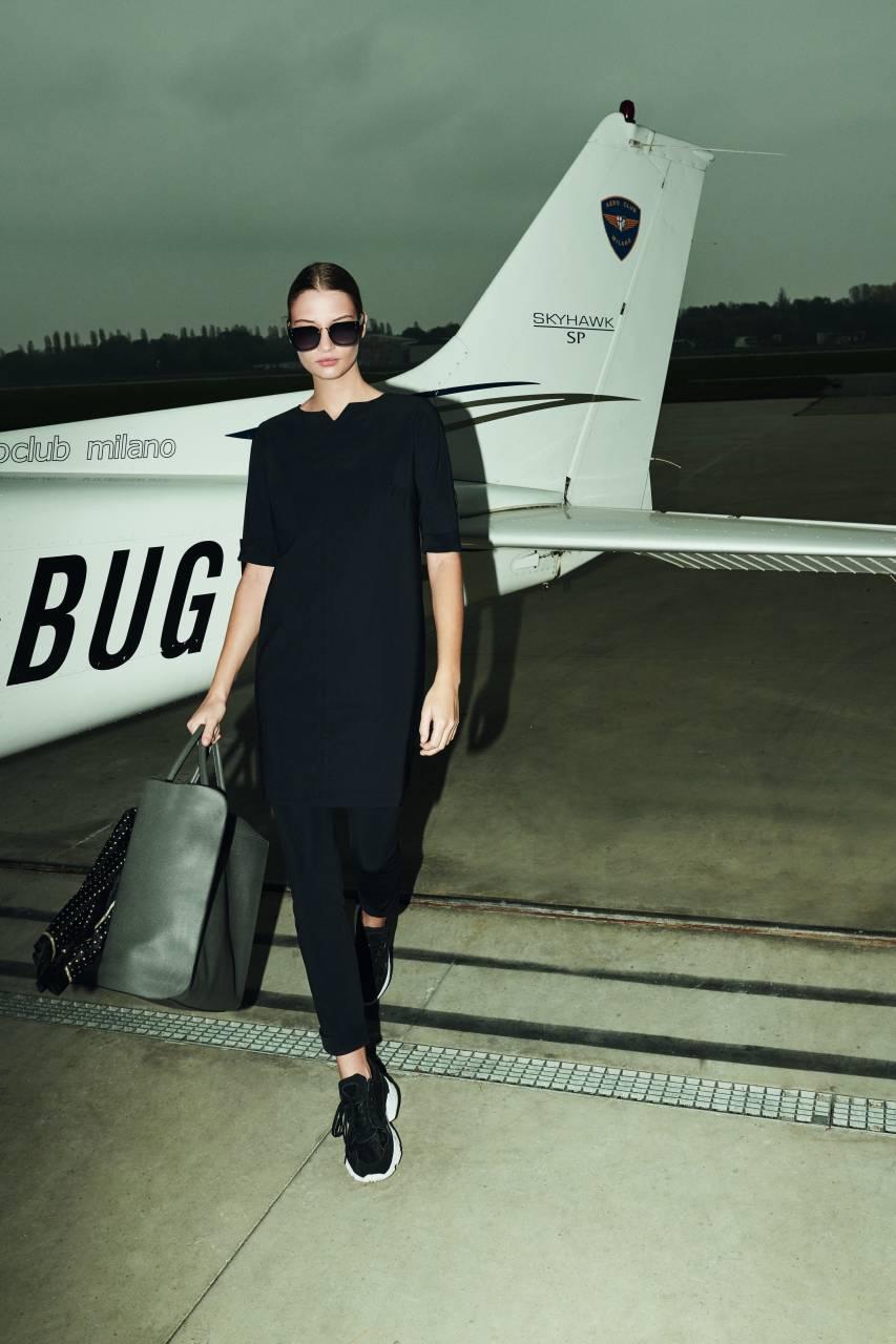 Travel Fit - Mini Dress Short Sleeves